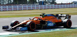 Post de Fórmula 1: Bottas le roba la pole a Hamilton en Silverstone y Carlos Sainz saldrá 12º