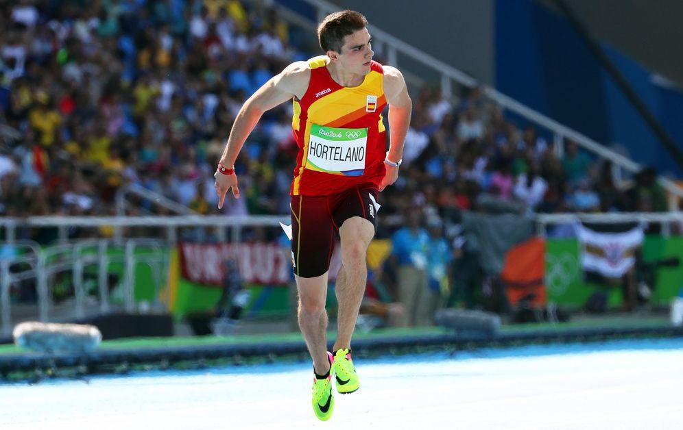 Foto: Bruno Hortelano, durante los Juegos Olímpicos de Río de Janeiro (Reuters).