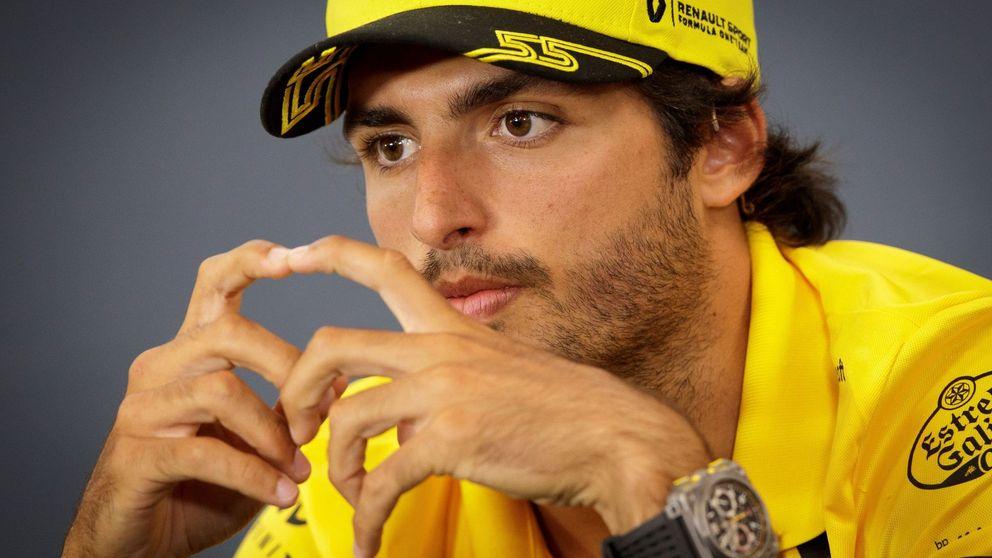 Sainz pone la venda antes de que aparezca la herida que espera en Monza