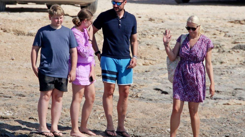 Foto: Los príncipes de Noruega, de vacaciones en Formentera. (Vanitatis)
