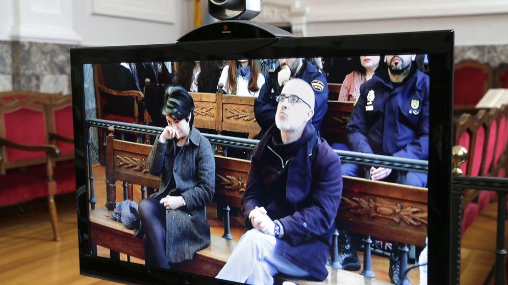 Foto: Los padres de Asunta durante la vista de apelación. (EFE)