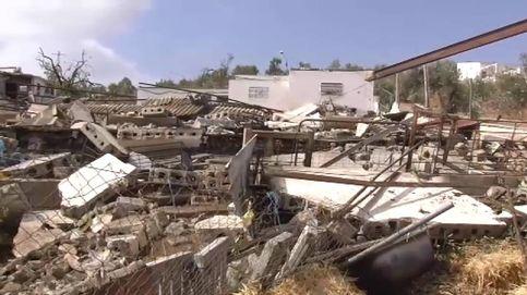 Un tornado arrasa una granja en Campillos (Málaga)