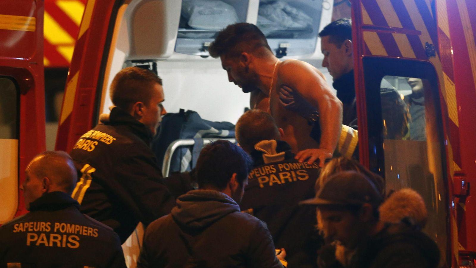 Foto: Explosiones en el Estadio de Francia. (EFE)