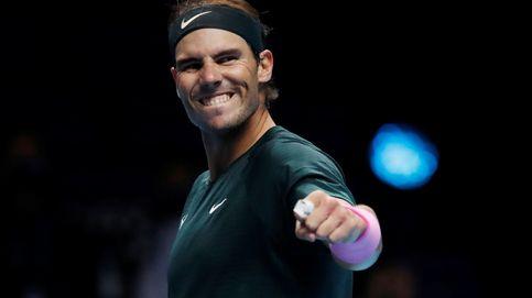 Nadal subyuga al descarado Tsitsipás y se mete en las semifinales del Masters