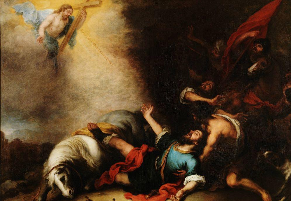 Foto: 'Conversión de San Pablo', lienzo de Murillo.