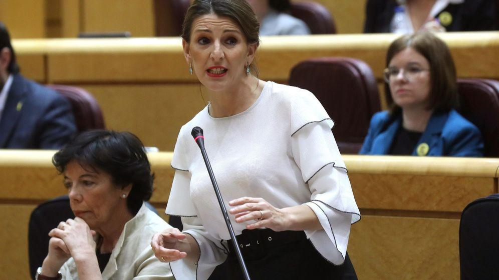 Foto: La ministra de Trabajo, Yolanda Díaz. (EFE)