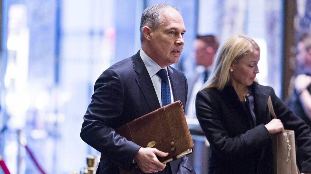 Foto:  Scott Pruitt, próximo director de la EPA durante la administración Trump.