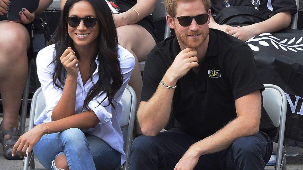 Foto: Meghan Markle y el príncipe Harry en una imagen de archivo. (Gtres)