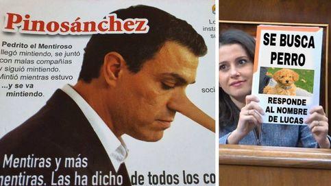 Crispación en el Congreso y el cartel de Arrimadas: los memes de la investidura