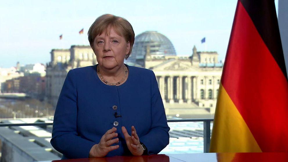 Merkel: Nuestro país no se enfrentaba a un desafío así desde la II Guerra Mundial