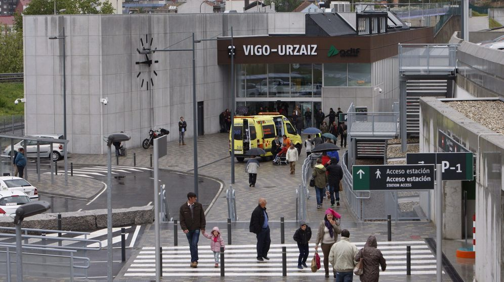 Foto: Estación de Vigo. (EFE)
