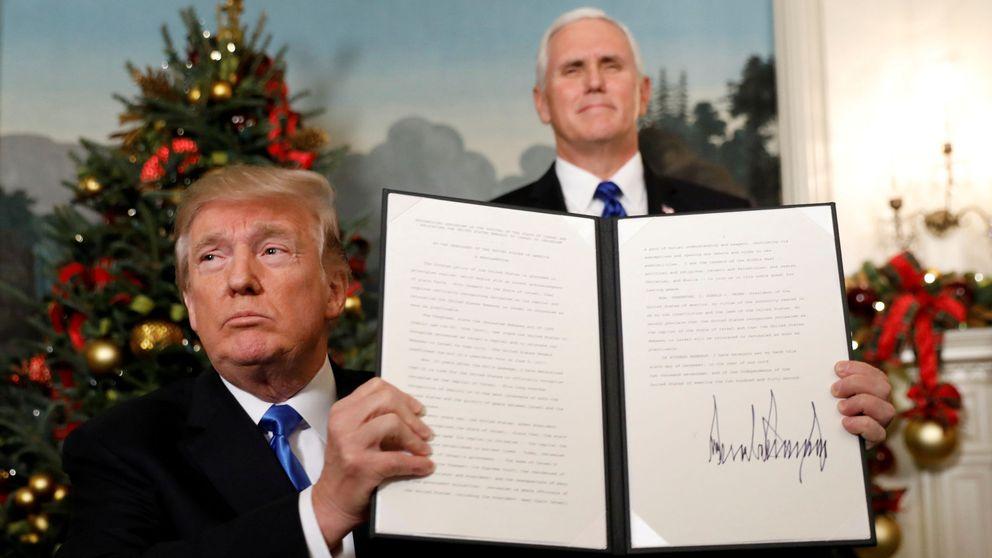 Trump reconoce Jerusalén como capital de Israel