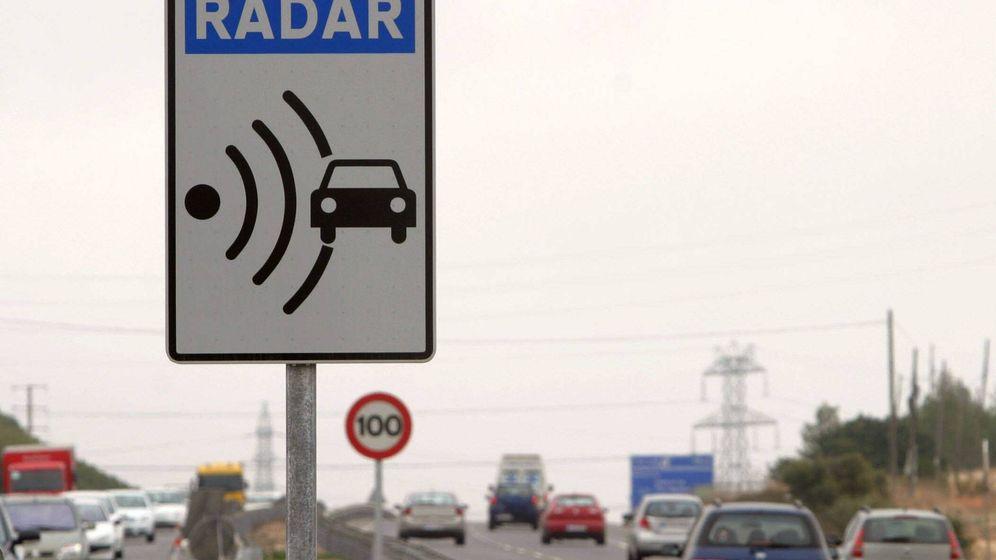 Foto: Los radares y el polémico margen de error. EFE
