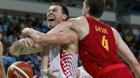 La España de Gasol empieza perdiendo ante Croacia y se complica la vida
