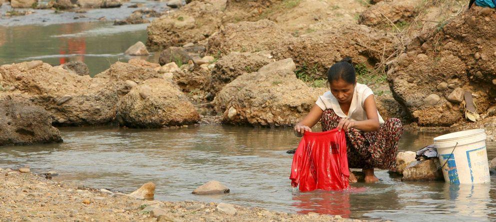 Foto: Gran parte del Sudeste Asiático sufrió en 2010 la peor temporada de sequía en décadas a causa del fenómeno de El Niño