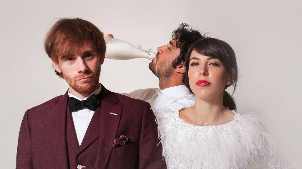 Foto: Daniel Pérez Prada, Alicia Rubio y Álex García en 'El amante'