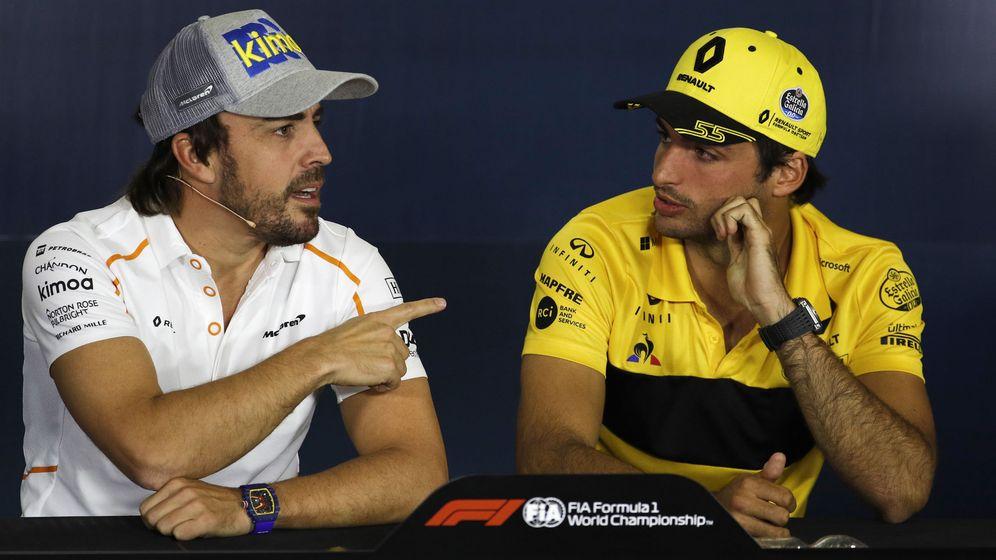Foto: Carlos Sainz sustituirá a Fernando Alonso en McLaren la próxima temporada. (EFE)