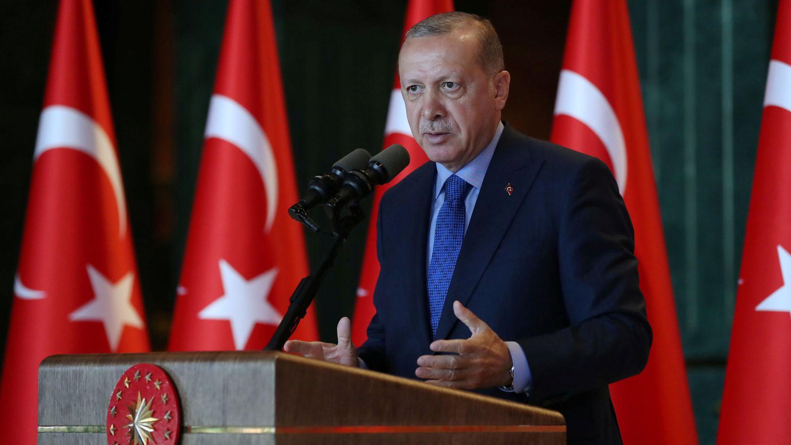 Foto: Tayyip Erdogan. (Reuters)