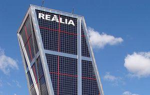 Realia alcanza máximos desde 2011 con el doble de volumen en plena venta del grupo