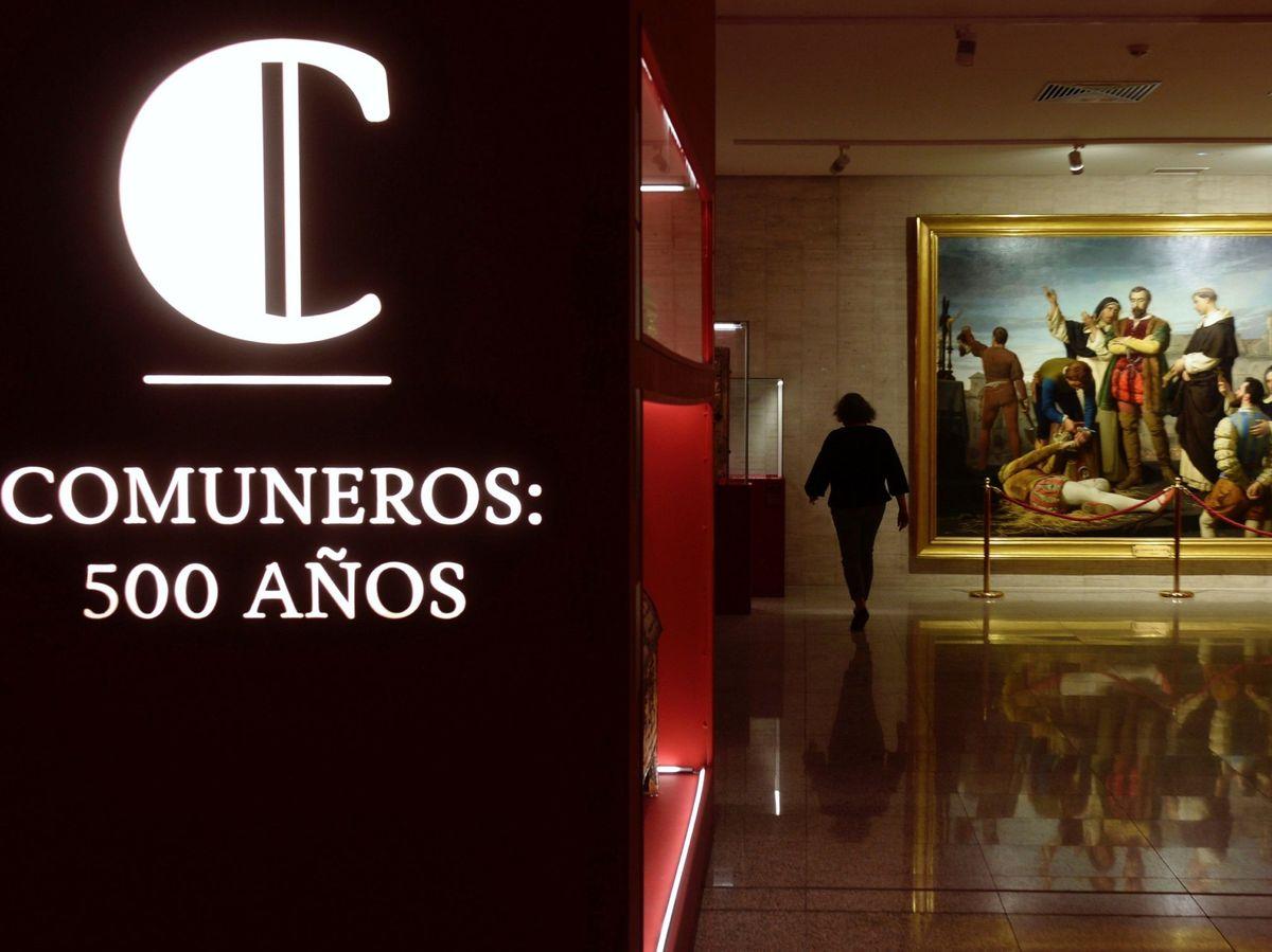 Foto: La sede de las Cortes de Castilla y León acoge la exposición 'Comuneros: 500 años', con motivo del V centenario del movimiento comunero. (EFE)