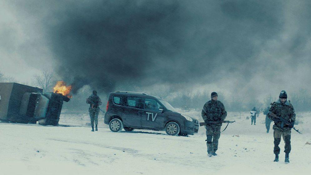 Foto: Una imagen de 'Donbass', de Sergei Lonitza. (Alfa Pictures)