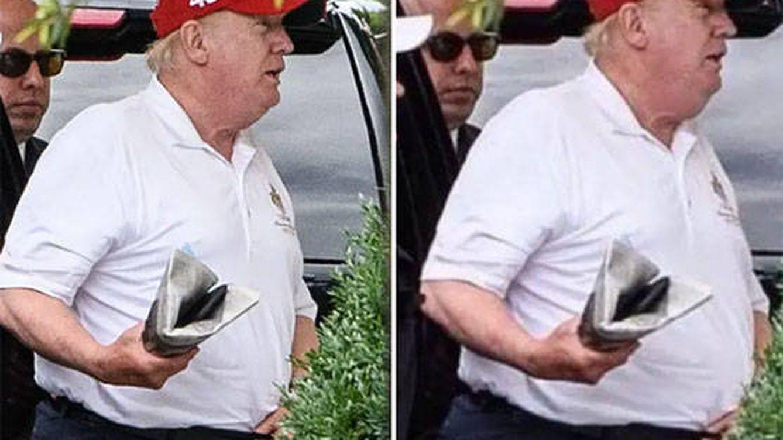 El último ataque de Photoshop a Donald Trump