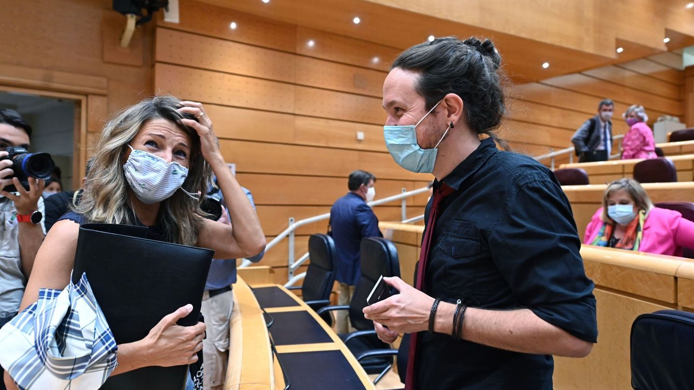 Díaz responde a Iglesias que España es democrática pero admite cierta reflexión