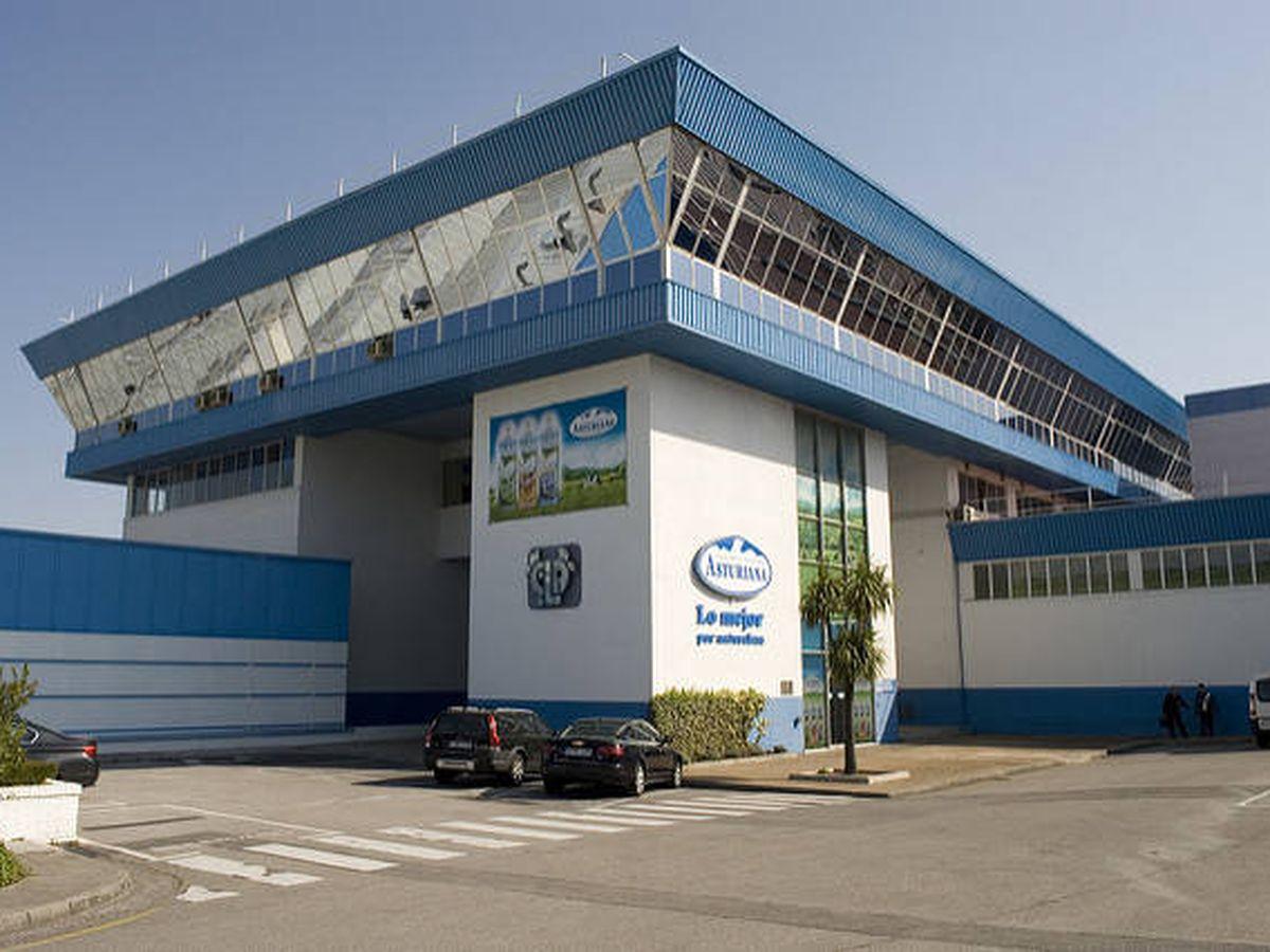 Foto: Una de las fábricas de Central Lechera Asturiana, perteneciente a Capsa Food.