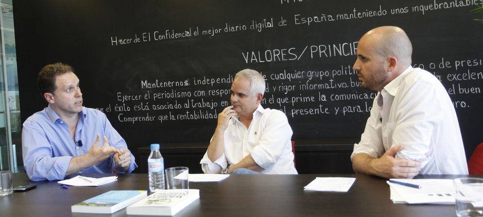 Foto: Daniel Lacalle, Alberto Artero y Nacho Álvarez. (E.Villarino)