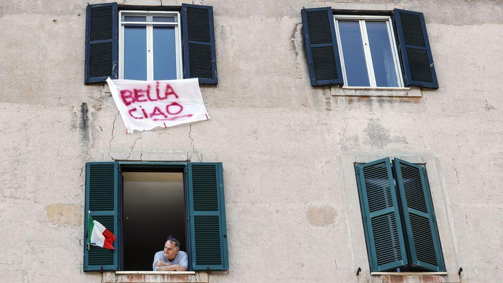 Italia celebra con el 'Bella Ciao' el Día de la Liberación y su cifra más baja de muertos