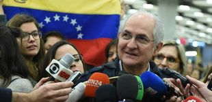 Post de El opositor venezolano Ledezma llega a Madrid y anuncia una reunión con Rajoy