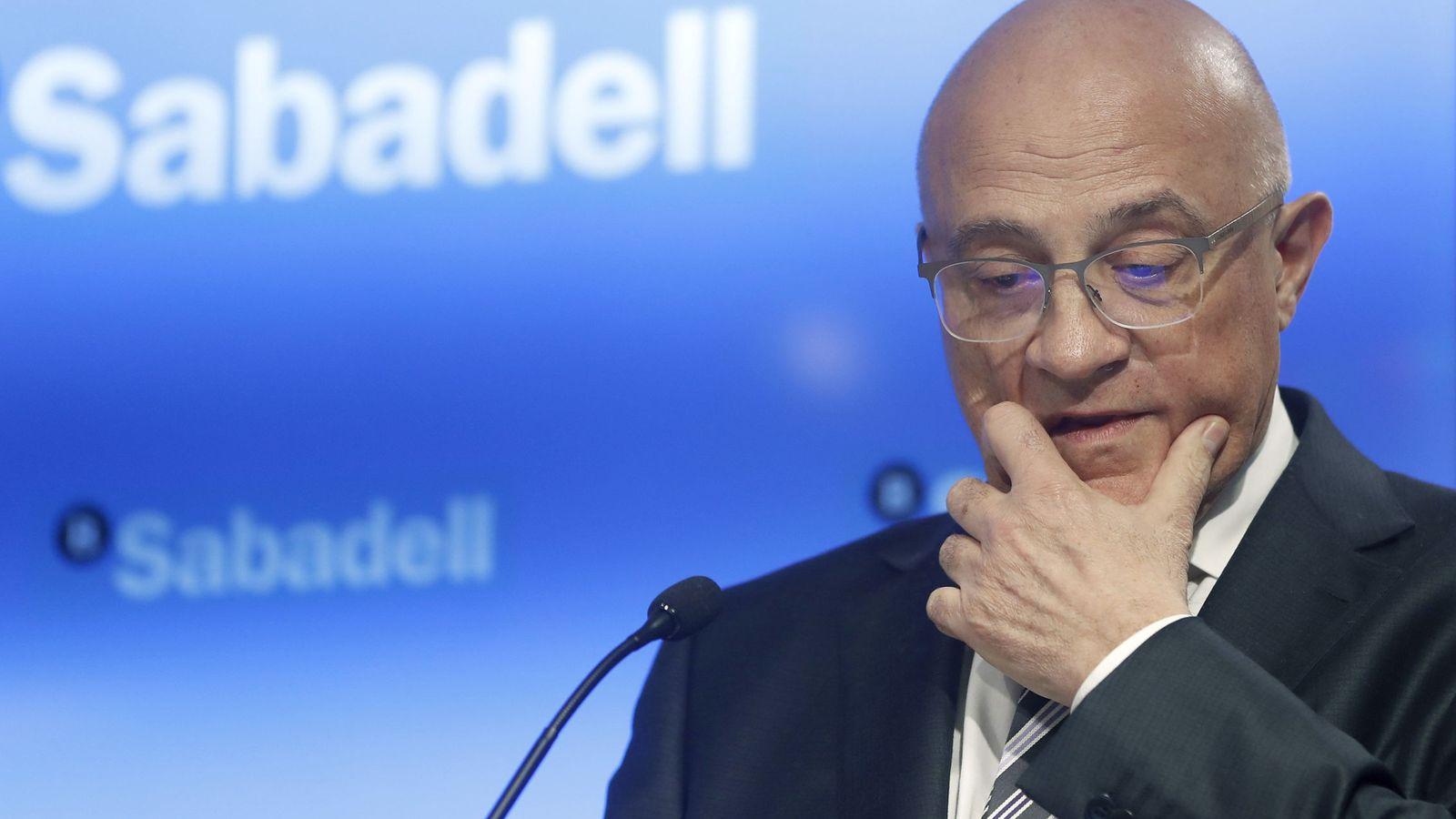 Foto: El presidente de Banco Sabadell, Josep Oliu