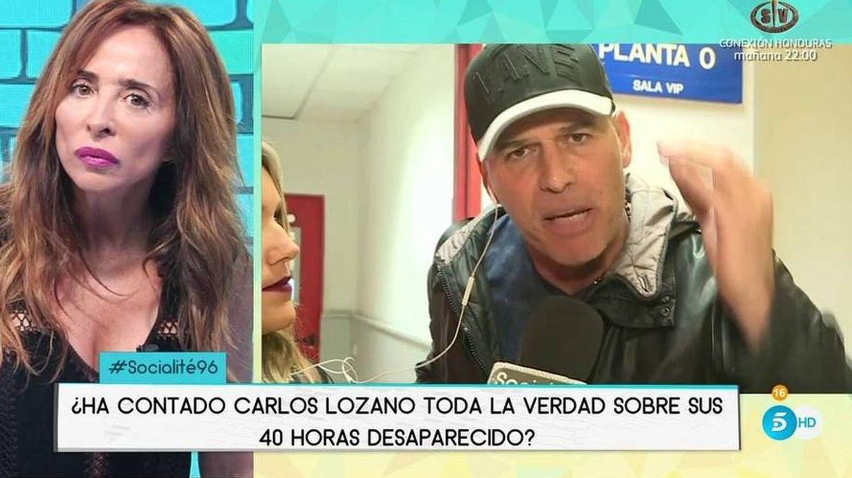 Carlos Lozano y María Patiño protagonizan un fuerte encontronazo en 'Socialité'