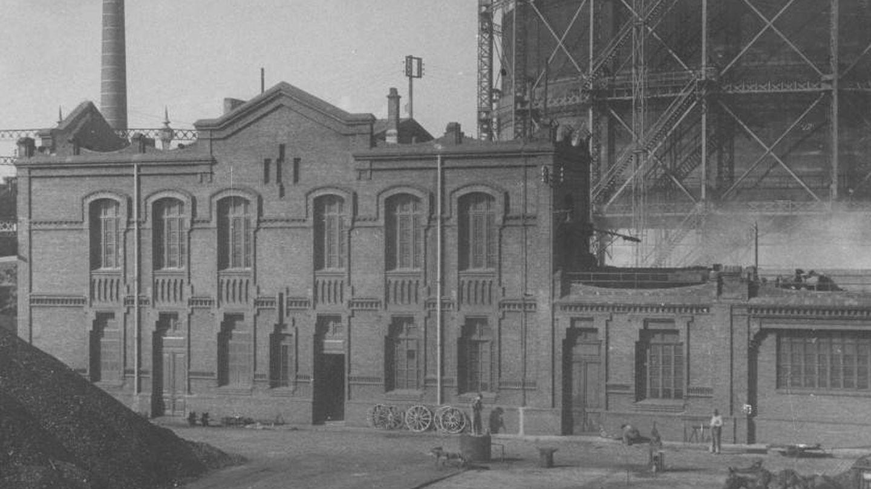 Fábrica de la Sociedad Catalana de Gas.