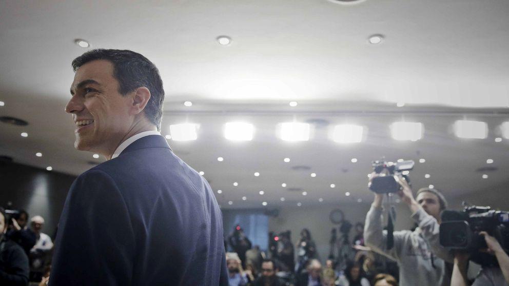 Sánchez: Estoy dispuesto a intentar formar Gobierno si me lo pide el Rey