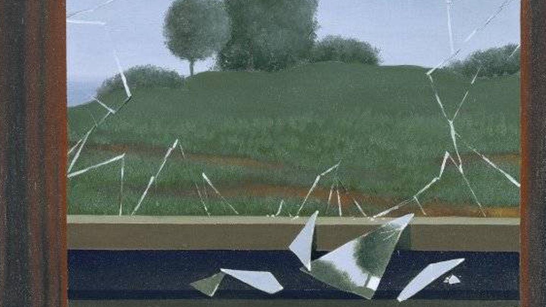 'La clef des champs' de Magritte.