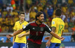 Khedira, clave para que Alemania se comiera a Brasil en 30 minutos