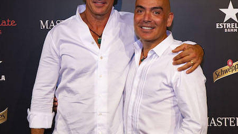 Kike Sarasola y Carlos Marrero. (Foto cedida)