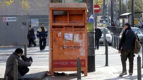 Una mujer muere atrapada por un contenedor de recogida de ropa usada