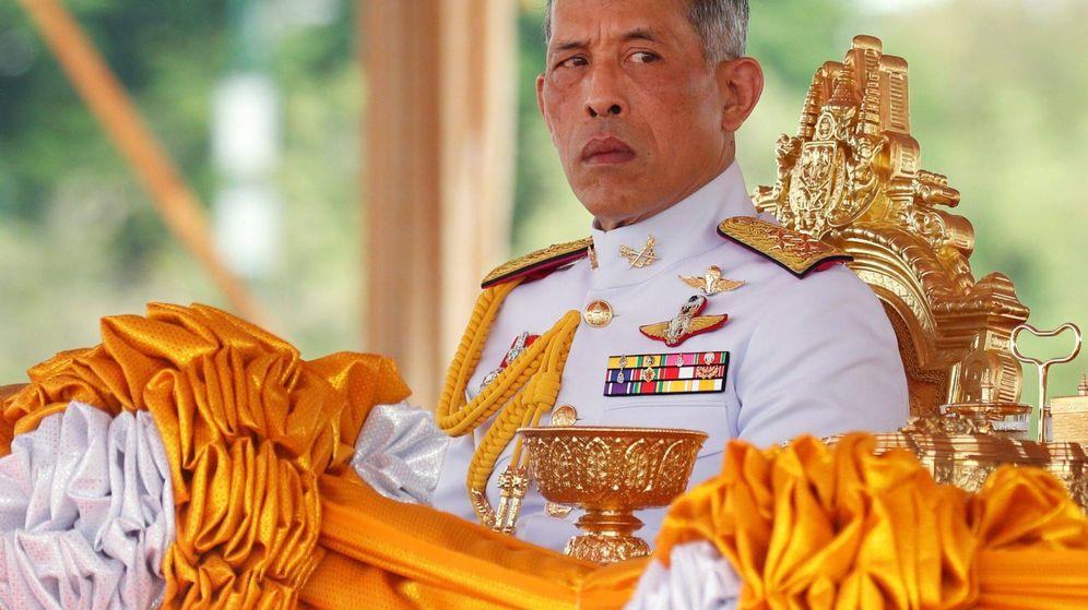 Foto: El rey Maha Vajiralongkorn. (EFE)