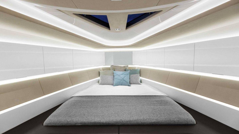 Suite principal. (Wajer Yachts)