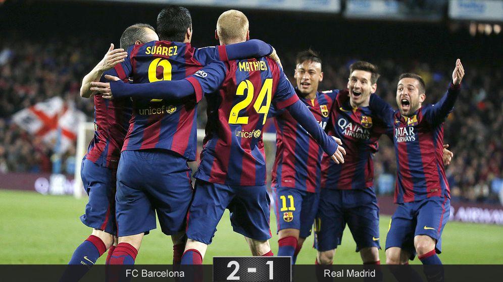 Foto: El Barcelona gana al mejor Madrid de 2015 y asesta un golpe donde más le duele