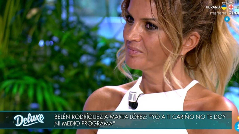 Marta López. (Telecinco).