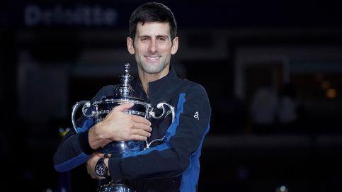 Djokovic gana a Del Potro en Nueva York y se coloca a la altura de su ídolo Pete Sampras
