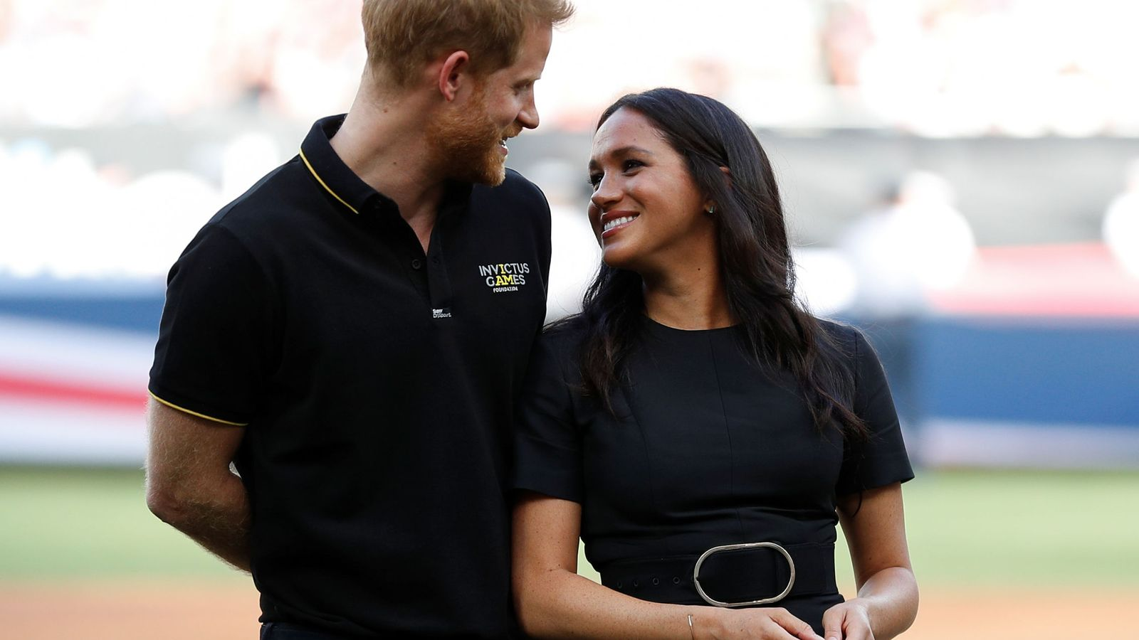Foto: Los duques de Sussex, este fin de semana. (Reuters)