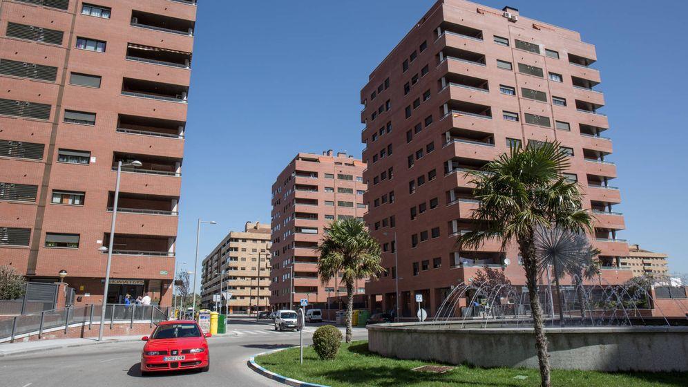 Foto: Vista de una calle de la localidad de Seseña. (D. B.)