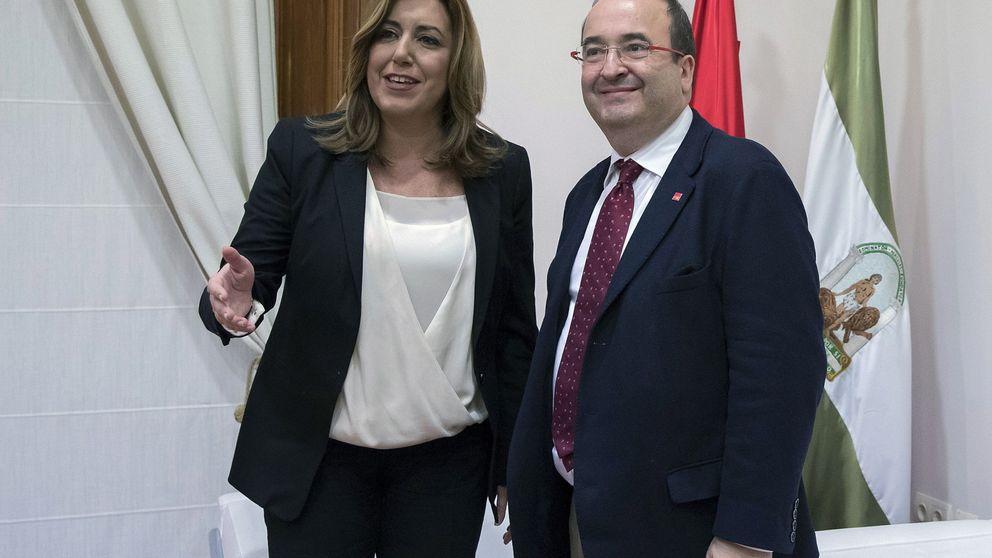 Iceta y Susana Díaz sellan un pacto que refuerza el liderazgo de la andaluza
