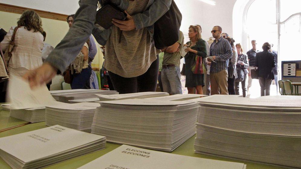 Foto: Votaciones durante el 27-S | Foto: EFE
