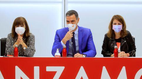 Sánchez reclama el voto útil aprovechando la división a su izquierda