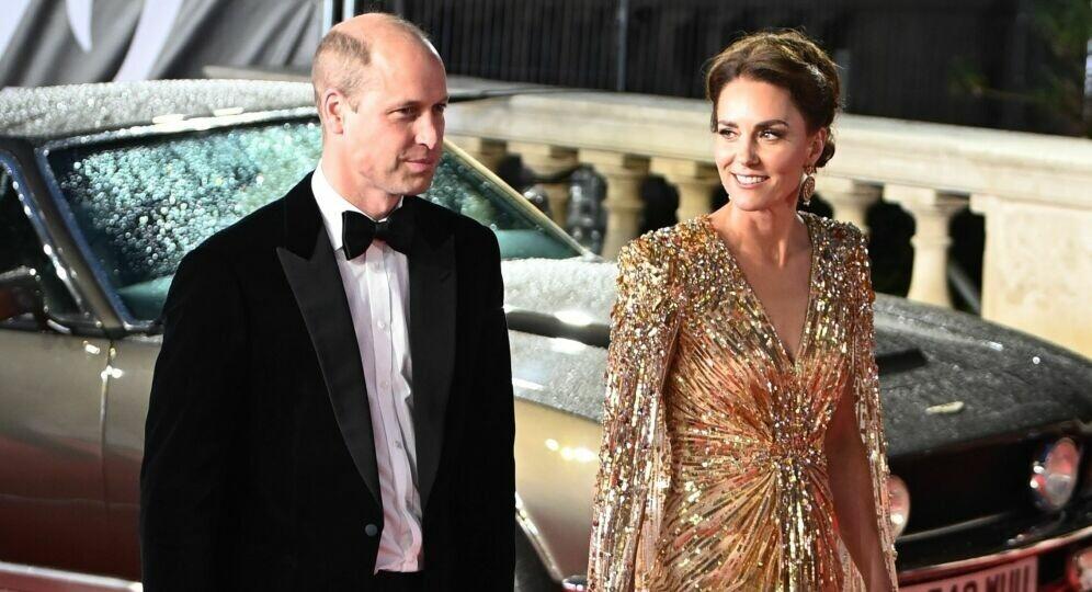 Foto de Kate Middleton, imbatible: su impactante look en el estreno de la película de 007